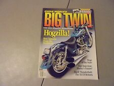 WINTER 1994 CYCLE WORLD BIB TWIN MAGAZINE,VOL.1#2 ISSUE HOGZILLA BUELL,XLCR,H-DS