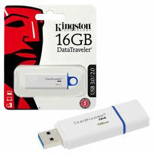 16GB NEW Kingston DataTraveler G4 USB 3.0 Flash Drive USB 3.0 Memory Stick 16GB