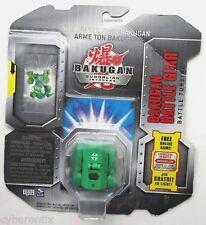 Bakugan BATTLE TURBINE Battle Gear Green GOLD ATTRIBUTE Brawlers Weapon 2010 NEW