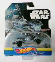 Mattel Hot Wheels Carships Star Wars Tie Fighter veicolo scatola rovinata