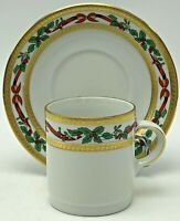 Tirschenreuth Bavaria Germany Christmas Cup And Saucer Tea Coffee Demitasse