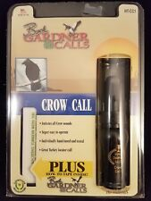 Buck Gardner Calls Pro Series Plus Crow Call Plus how to tape New