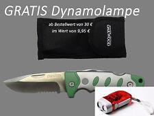 Taschenmesser Hochwertig Glatt- und Sägeschnitt Outdoor 2-tlg. von OAKWOOD LFGB