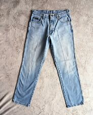 Mens WRANGLER Texas Vintage Jeans Original fit Straight Leg Light Size W32 L32