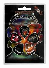 METALLICA PLEKTRUMSET / GUITAR PICK SET # 1 HARDWIRED TO SELF DESTRUCT