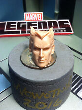 MARVEL LEGENDS TOYBIZ QUICKSILVER 1:12 head cast for 6 in figure