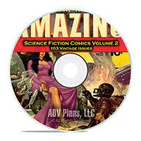 Science Fiction Comics, Vol 2, Outer Space, Amazing Golden Age Comics DVD C87