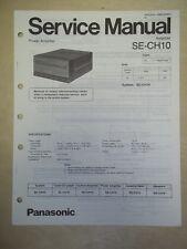 Technics Service/Repair Manual~SE-CH10 Power Amplifier