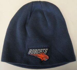 NWT NBA Charlotte Bobcats Reebok Cuffless Winter Knit Hat Beanie Cap OSFM NEW!