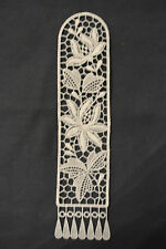 Lace Bookmark - Flowers - Orchids