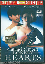 Lonely Hearts (Annunci di Morte) (1991) DVD NUOVO Eric Roberts. Beverly D'Angelo