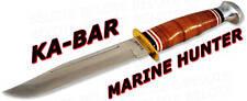 Ka-Bar KaBar Knives Marine Hunter Fixed Blade w/ Sheath 1235