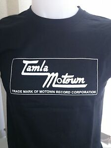 TAMLA MOTOWN - DETROIT SOUL - MOTOWN COTTON T-SHIRT