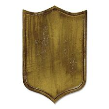 Sizzix Movers & Shapers Die  Armor Shield th659445 Tim Holtz