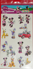 @** DISNEY MINNIE MOUSE  & FRIENDS TEMPORARY TATTOOS**@ BRAND NEW!!