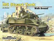 Squadron/Signal Publications M5 Stuart Tank Walk Around Book No. 5719