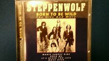 STEPPENWOLF - BORN TO BE WILD. THE HITS AND MORE. CD