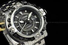 Invicta Men 54mm Excursion Silver Black Automatic NH35A Bike Chain Bezel Watch