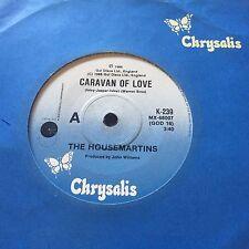"""THE HOUSEMARTINS - - CARAVAN OF LOVE - - 1986 Australian 7"""" - -  Indie Rock"""