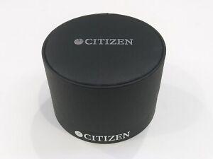 CITIZEN Black Watch Box Presentation Display Storage Case NEW