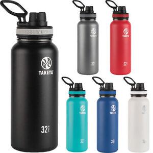 Takeya Originals 32 oz. Insulated Stainless Steel Water Bottle