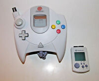 Official Sega Dreamcast Controller w/ Matching VMU - New Batteries OEM HKT-7700
