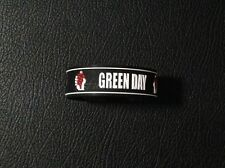 Green Day Wristband Rubber Silicon Bracelet Music Logo Punk Rock Band Badge New