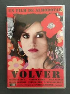 DVD VOLVER Penélope Cruz Carmen Maura Chus Lampreave Lol Dueñas PEDRO ALMODÓVAR