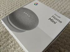 Google Home Mini Smart Speaker with Google Assistant - Chalk - USED - FLAWLESS