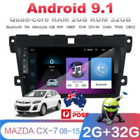 9 Inch Touch Screen WIFI 3G/4G MP5 Player 2GB + 32GB For MAZDA CX-7 With Canbus