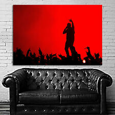 Poster Kanye West Rap Hip Hop Concert 35x52 inch (90x132 cm) on Canvas