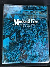 Musket & Pike Tactical Combat 1550-1680 SPI 1973 Flat Tray Edition