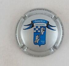 NOUVELLE capsule champagne CARON Frédéric  cuvée compagnie d'arc gris et bleu