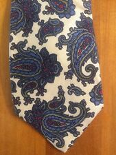 Men's Liberty of London Beautiful Paisley Silk Classic Tie Made in USA 30187