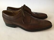 Grenson Phillip Brogue Wingtip Oxford, Men's US 11, UK 10, Dark Brown, New