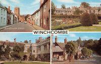 """Rare Vintage Postcard - Winchcombe Town Street/Castle"""" - England Unposted"""