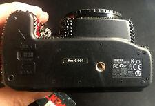 Rare! Pentax K-M Swarovski cámara-Crystal con ORIG. swaovski piedras-Embalaje original -
