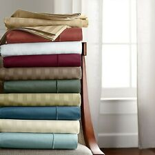 Cushy Bedding 1000Tc Egyptian Cotton 1 Pc Bed Skirt Us Size Solid/Striped Colors
