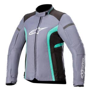 Alpinestars Stella T-Kira V2 Waterproof Motorbike Motorcycle Jacket Slate Grey
