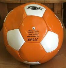 Tachikara Soccer Ball #Sm4Sc Orange/White Size 4 New