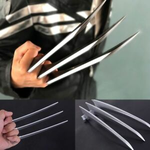 US SHIP 2 Pcs/1 Pair X-men Wolverine Claws Logan Paws 1:1 ABS Cosplay Props Gift
