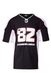 🦍 UK 3XL. Gorilla Wear Athlete 2 T-Shirt Black/White.New design+tags.RRP £52.95
