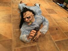 Spirit Halloween Possessed Wall Hanger Animated Prop