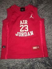 Jordan Kids Large 2T Air Jordan Michael Jordan 23 Mesh Sewn Basketball Jersey