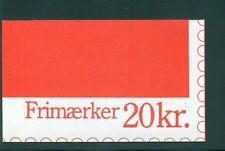 Denmark 1989 20 Kr Booklet Facit H54 print 33