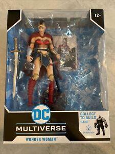 DC Multiverse Wonder Woman Bane Batman The Last Knight on Earth (NO BAF) NIB!