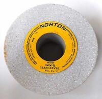 NORTON 32A80-K5VBE GRINDING WHEEL, 4 X 2 X 1 1/4, 8120 MAX RPM, 353343