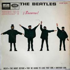 45t EP The BEATLES 'HELP ! Socorro! Odeon Espagne 16.675 VG+/EX Printed in Spain