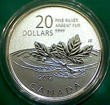 2012 CANADA $20 for $20 Farewell to Penny pure silver coin : all org packaging