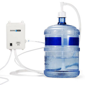 Water Bottle Pump System 1 Gal/min 40 Psi Water Dispenser Pump With 20ft Pe Pipe